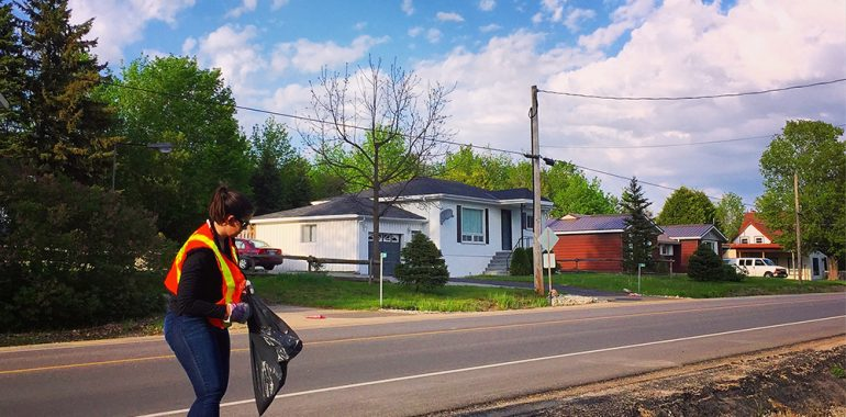 Cleaning Up Champlain Road
